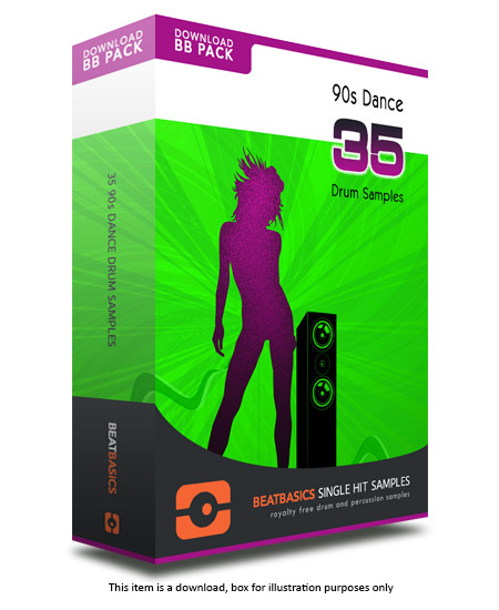 Dance Samples Pack v1 - Single hit drum samples